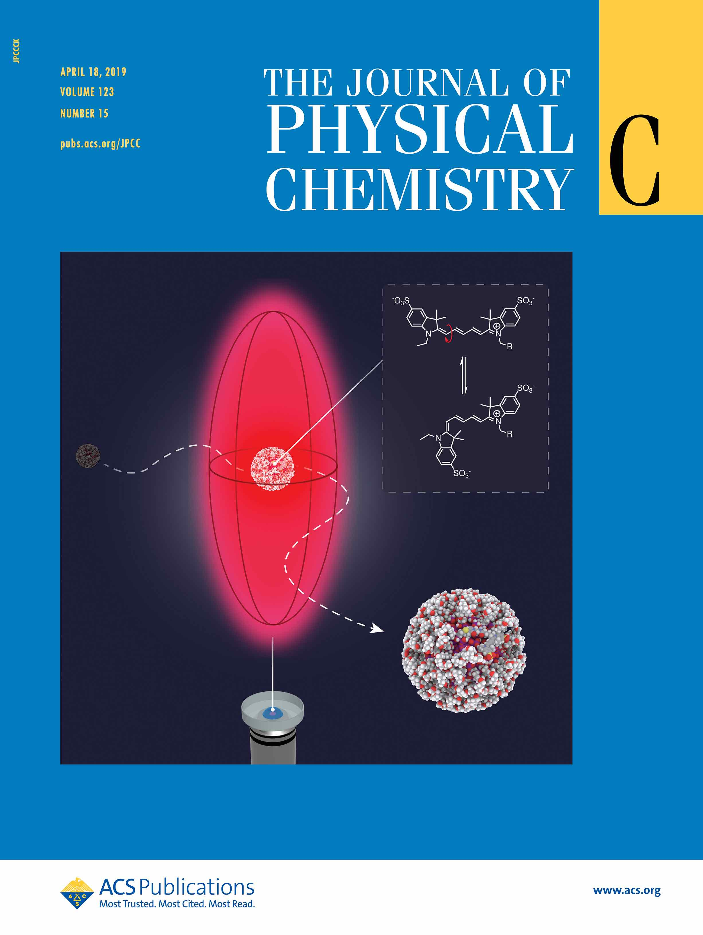 The Journal of Physical Chemistry C (04/2019 cover)