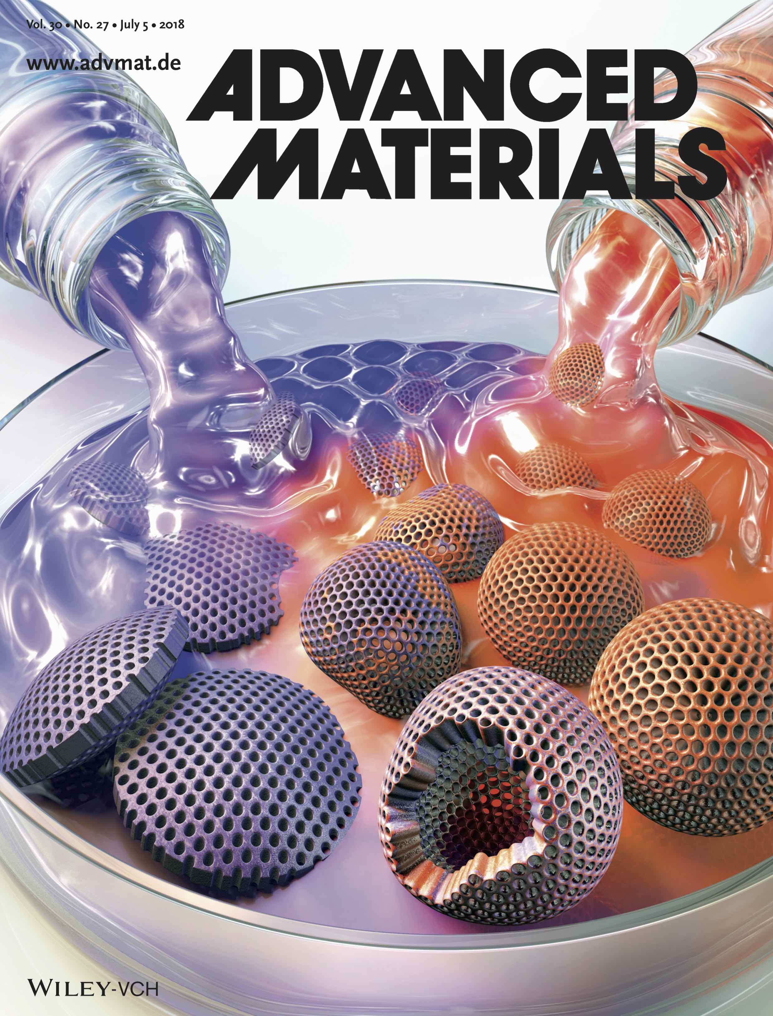 Advanced Materials (7/2018 cover)